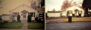 Two views of 60 West Tietan in the 1990s prior to more recent additions and alterations. Courtesy Walla Walla County Assessor's Office.