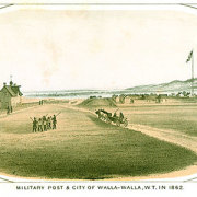 The final Fort Walla Walla