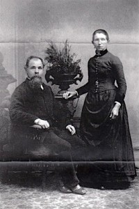 John and Josephine Lumpp ca. 1880