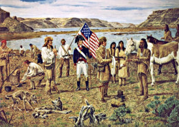Lewis-Clark-meeting-Yellepit-at-Wallula