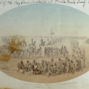 Arrival of the Nez Perce at the 1855 Treaty Council