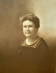 Dr. Florence Bennett Anderson. Whitman Archives photo.