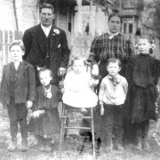 Jacob Roth Family of Walter Russia, c.1907 in Walla Walla