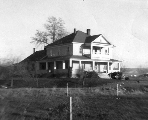 Walla Walla Cnty Poor Farm - Main house circa 1965. Photo courtesy of Dell & Lenore Wagner